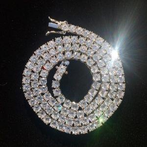 Silver Plated Tennis chain